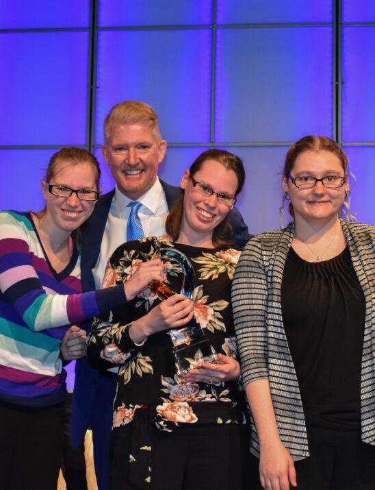 Jessica, Nancy, Dr. Dalton, and Rebecca