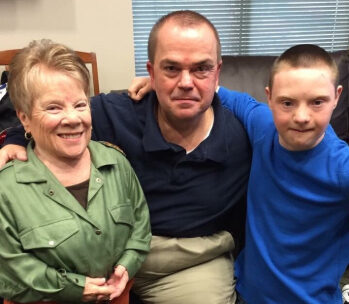 Donna with son and grandson Kevin