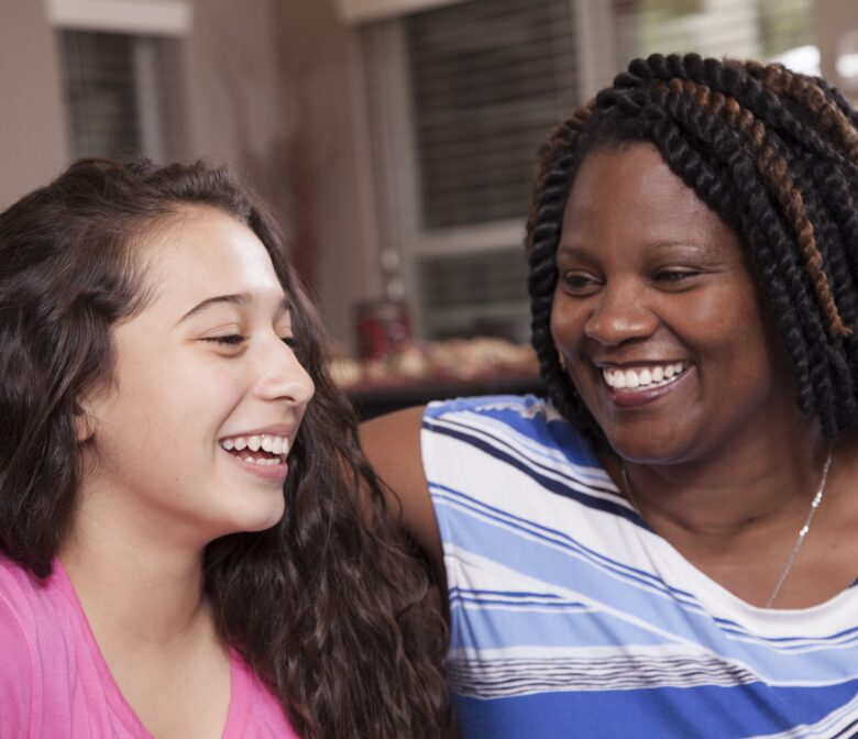 Foster Care Mother and Teenage Daughter